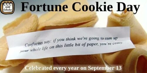 Read more about the article Fortune Cookie Day