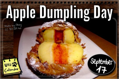 Read more about the article Apple Dumpling Day