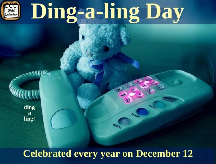 You are currently viewing Ding-a-ling Day