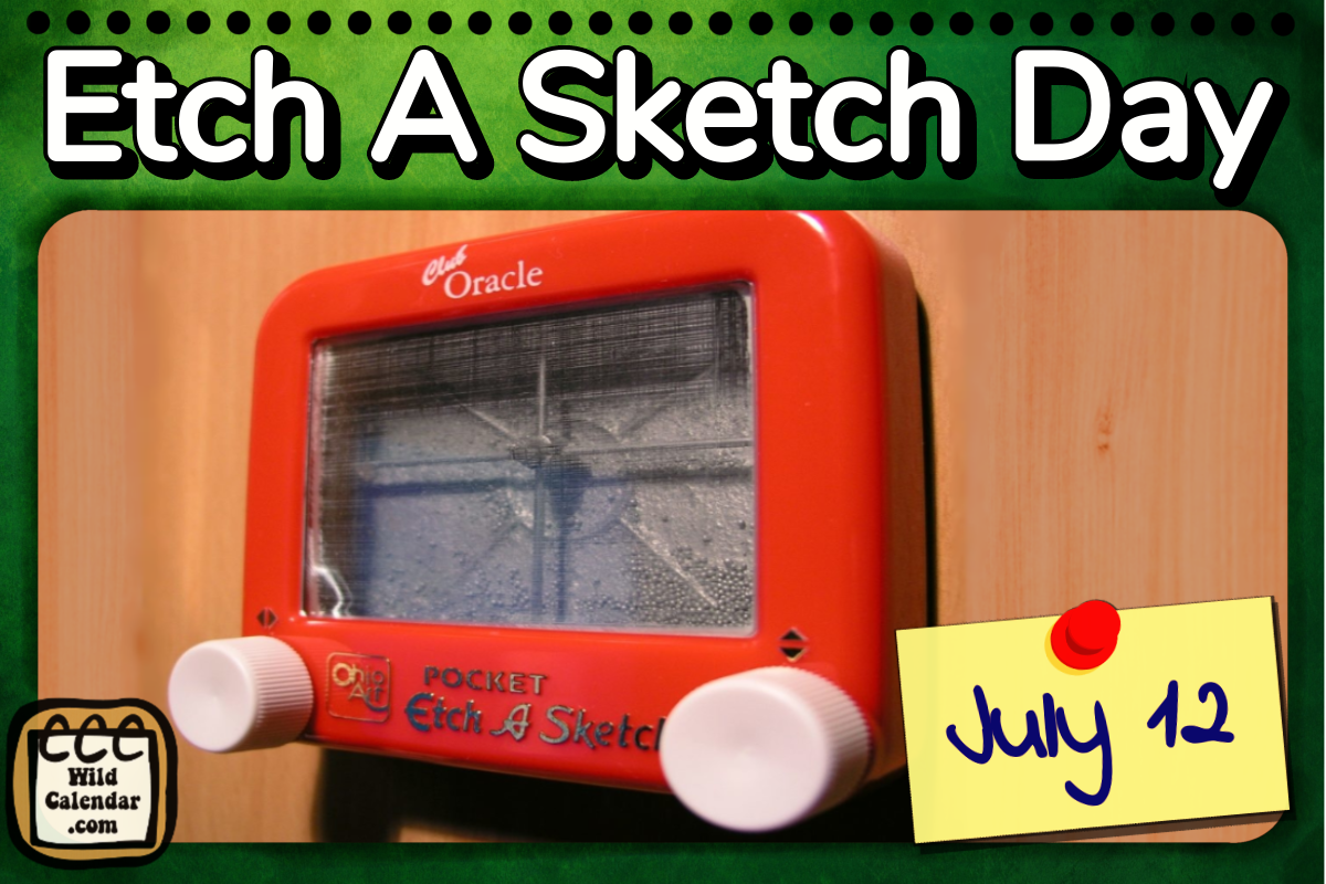 Etch A Sketch Day