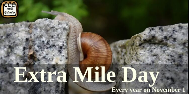 Extra Mile Day
