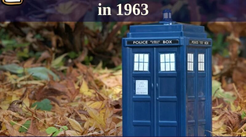 First Broadcast of Doctor Who