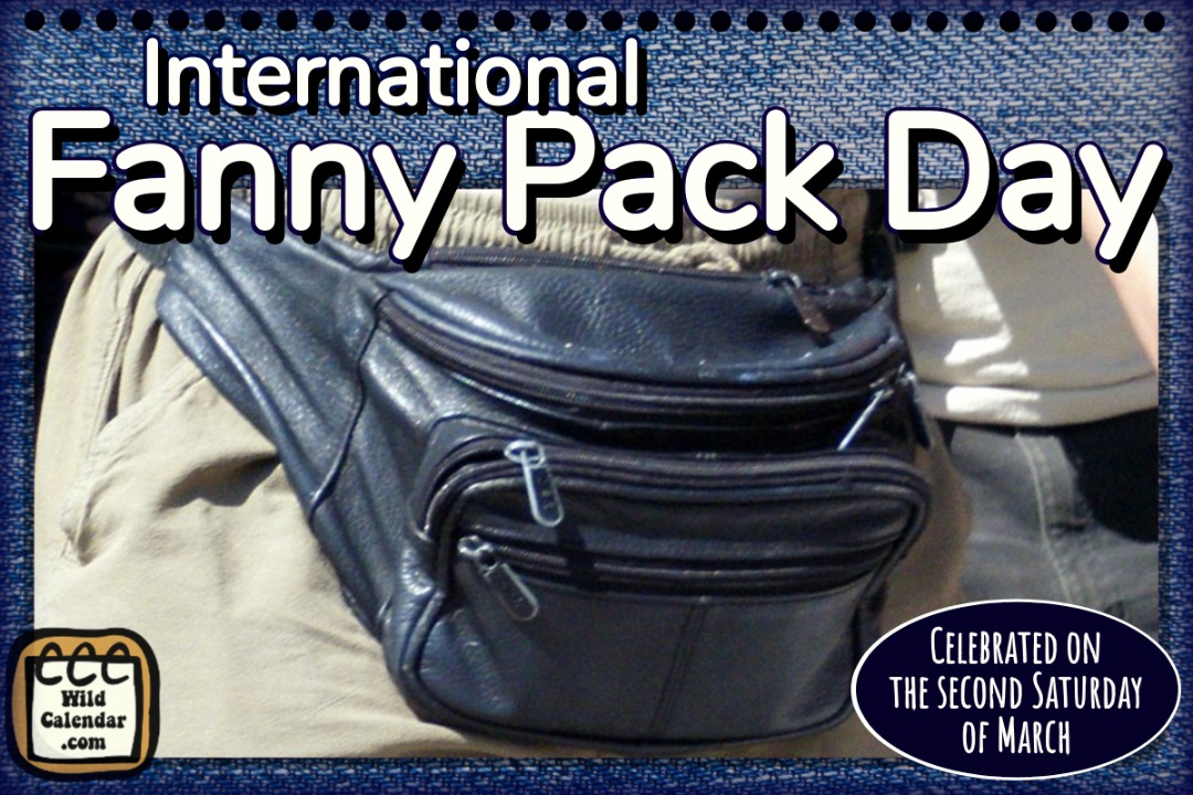 International Fanny Pack Day