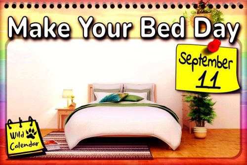 Read more about the article Make Your Bed Day