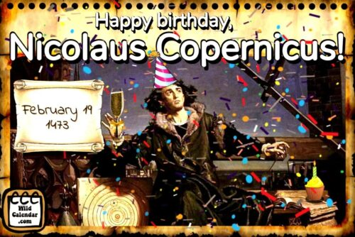 Read more about the article Nicolaus Copernicus's birthday