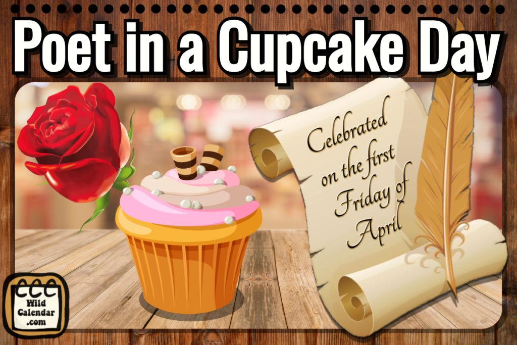 Poet in a Cupcake Day