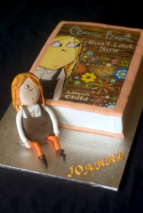 Clarice Bean Book Cake by Mags