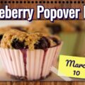 Blueberry Popover Day