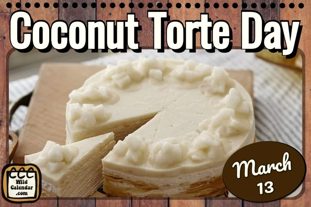 Coconut Torte Day