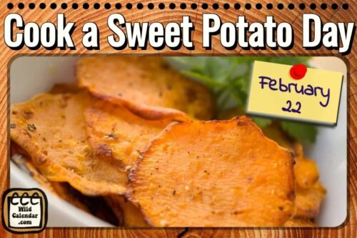 Read more about the article Cook a Sweet Potato Day