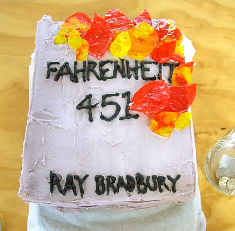 Baked at Fahrenheit 451 Photo by Hal B. Klein