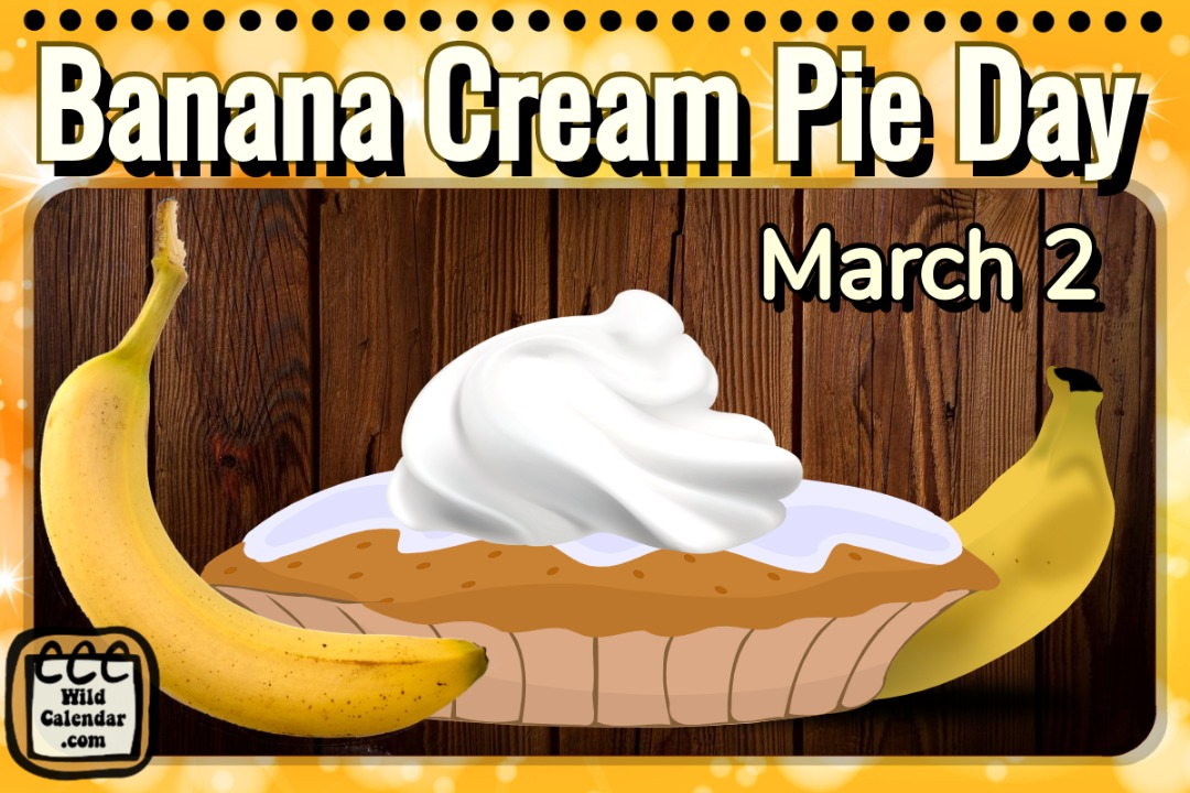 Banana Cream Pie Day