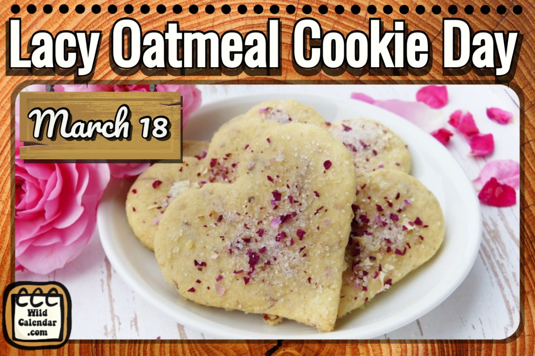 Lacy Oatmeal Cookie Day