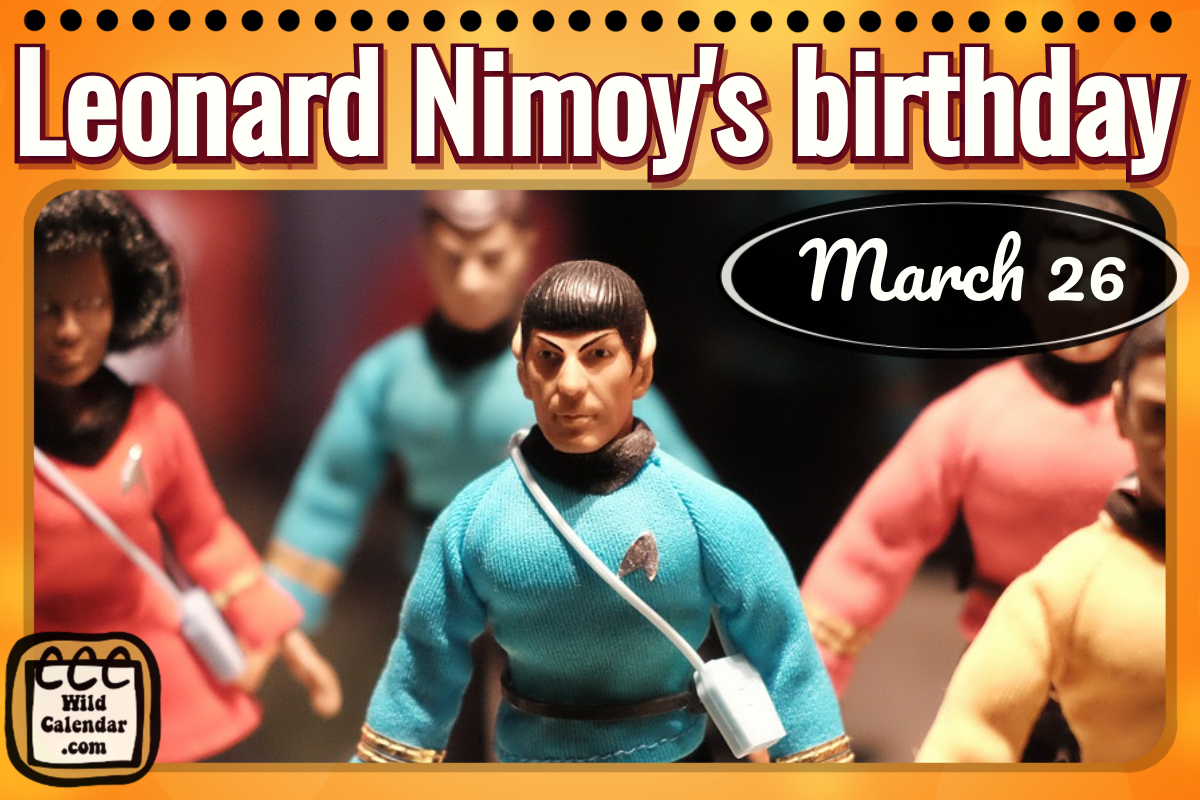 Birthday Leonard Nimoy