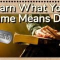 Learn What Your Name Means Day