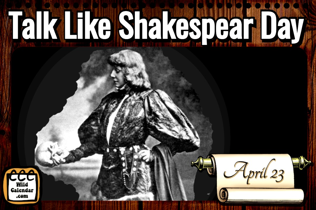 Talk Like Shakespear Day