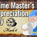 Game Master's Appreciation Day