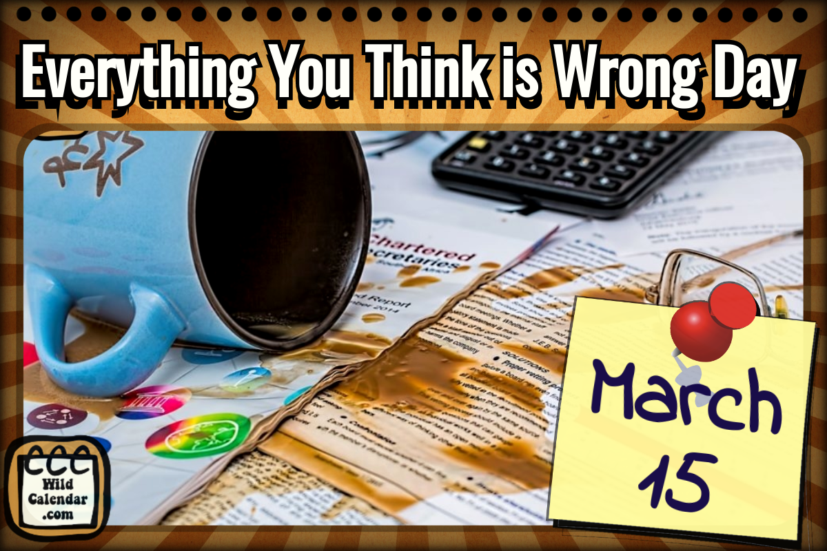 Everything You Think is Wrong Day