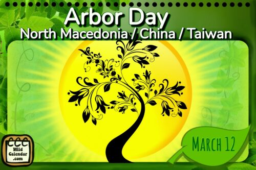 Read more about the article Arbor Day ( North Macedonia / Taiwan / China)