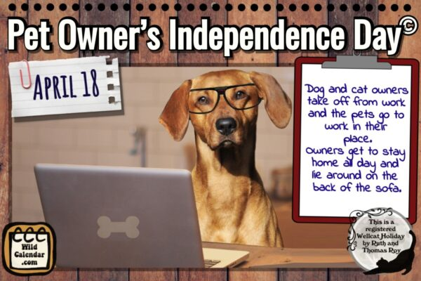 Pet Owner's Independence Day ©