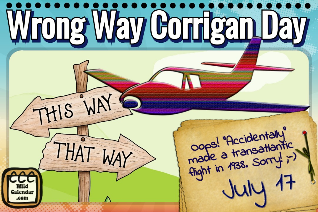 Wrong Way Corrigan Day