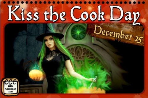 Kiss the Cook Day